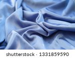 fabric blue waves   material... | Shutterstock . vector #1331859590