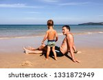 unrecognizable little boy in... | Shutterstock . vector #1331872949
