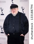 "Small photo of George R.R. Martin at ""An Evening with The Game of Thrones"" hosted by the Academy of Television Arts and Sciences, Chinese Theater, Hollywood, CA 03-19-13"