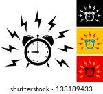 Illustration Of Alarm Clock...