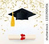 congratulatory banner with a... | Shutterstock . vector #1331900456
