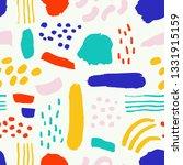 super cute seamless pattern... | Shutterstock .eps vector #1331915159