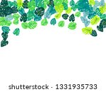 turquoise tropical jungle... | Shutterstock .eps vector #1331935733
