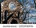 detail of the st pancras old... | Shutterstock . vector #1331936936