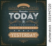 vintage calligraphic motivation ...   Shutterstock .eps vector #1331947220