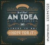 vintage calligraphic motivation ...   Shutterstock .eps vector #1331947223
