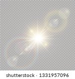 vector transparent sunlight... | Shutterstock .eps vector #1331957096