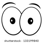 Comic Eyes   Eyeballs Vector  ...