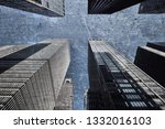 new york city  united states  ... | Shutterstock . vector #1332016103