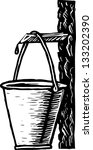 beverage,black and white,bucket,drawing,drop,harvest,healthy,illustration,maple,natural,nutritious,organic,plant,production,vector