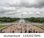 washington dc  district of...   Shutterstock . vector #1332027890