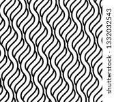 design seamless monochrome... | Shutterstock .eps vector #1332032543