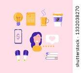 concept of freelance  social...
