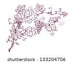 vine leaves | Shutterstock .eps vector #133204706