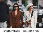 milan  italy   february 20 ...   Shutterstock . vector #1332055739