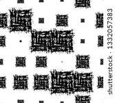 grunge ethnic seamless pattern... | Shutterstock .eps vector #1332057383