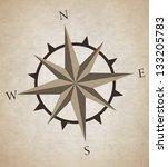 compass | Shutterstock .eps vector #133205783