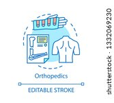orthopedics concept icon.... | Shutterstock .eps vector #1332069230