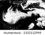 black and white marbling... | Shutterstock . vector #1332112949