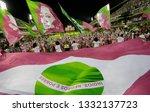 rio de janeiro  brazil    march ... | Shutterstock . vector #1332137723