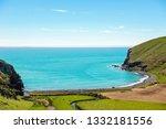 overlook of stony beach on the... | Shutterstock . vector #1332181556