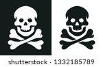 skull and bone. jolly roger....   Shutterstock .eps vector #1332185789