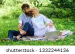 couple in love or family work... | Shutterstock . vector #1332244136