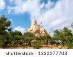 nakhal or sometimes spelled... | Shutterstock . vector #1332277703