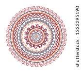 beautiful indian ornament ...   Shutterstock .eps vector #1332295190