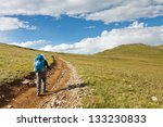 Hiking In The Tundra Of The...