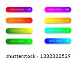 set of bright colorful apply... | Shutterstock .eps vector #1332322529
