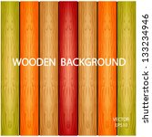 wooden background texture ... | Shutterstock .eps vector #133234946