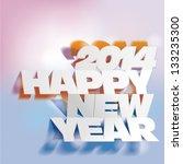 2014   letter folding with... | Shutterstock .eps vector #133235300