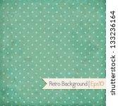 Vintage Background. Polka Dot...