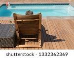 rear view of a senior  african... | Shutterstock . vector #1332362369
