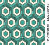 contemporary honeycomb... | Shutterstock .eps vector #1332380453