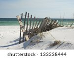 Beach Fence Near Pensacola...