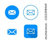 mail icon  four variants ...