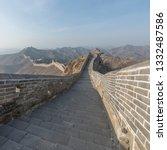 great wall of beijing china   Shutterstock . vector #1332487586