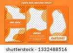 abstract trendy modern... | Shutterstock .eps vector #1332488516