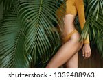 Woman\'s Body In Swimsuit At...