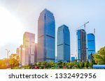 city architectural scenery of... | Shutterstock . vector #1332492956