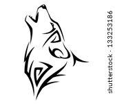 tribal tatoo | Shutterstock .eps vector #133253186