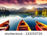 mountain lake in national park... | Shutterstock . vector #133253720