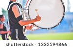 close up of marching band... | Shutterstock . vector #1332594866