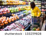 Young Woman Shopping In The...