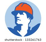 construction worker | Shutterstock .eps vector #133261763