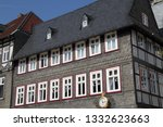 a beautiful half timbered house ... | Shutterstock . vector #1332623663