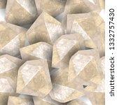 Diamond Stone Rough. Seamless...