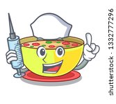 nurse corn chowder isolated... | Shutterstock .eps vector #1332777296